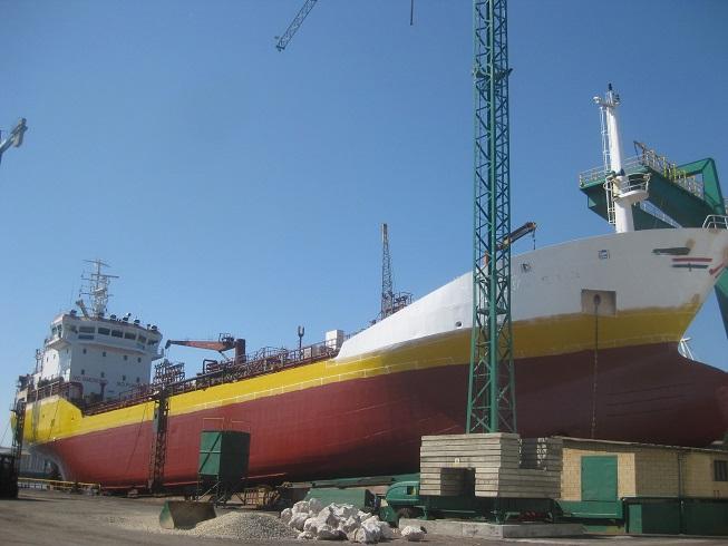 Repación buque
