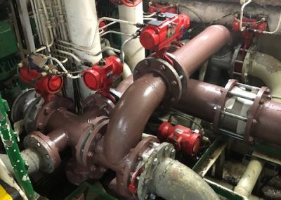 Instalación Sistema de Tratamiento Agua Lastre